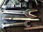 Machinists Photos - Several Wrenches by Susan Savad