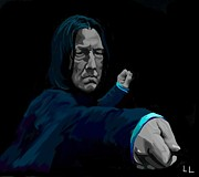 Harry Potter Digital Art - Severus by Lisa Leeman