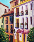 Seville Painting Prints - Sevilla Streets Print by Candy Mayer