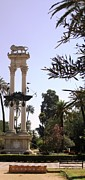 Handmade Trunk Posters - Seville Christopher Columbus Monument Spain Poster by John A Shiron