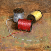 Thread Paintings - Sew What by Brian  Harlan
