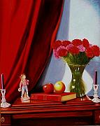 Gene Gregory - Sewing carnations