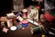 Sewing Notions I Print by Tom Mc Nemar