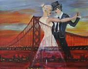 Golden Gate Originals - SF Scene 2 by Vykky Gamble
