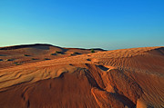 Sand Dunes Metal Prints - Shades of Sand Metal Print by Corinne Rhode