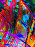 Paint Splashes Prints - Shades of Time Print by Phill Petrovic