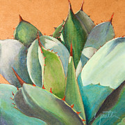 Agave Paintings - Shadow Dance 2 by Athena  Mantle