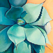Agave Paintings - Shadow Dance 4 by Athena  Mantle