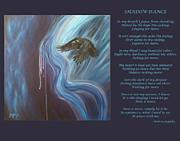 Shadow Dance Print by Melissa Joyfully  Creativity Awakened
