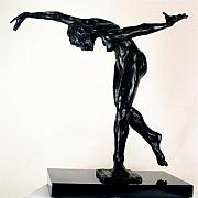 Featured Sculpture Framed Prints - Shadow Dancer Framed Print by Dan Earle