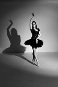 Dance Shoes Posters - Shadow Dancer Poster by Philip Payne