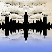 Big Ben Posters - Shadow Goverment Poster by Sharon Lisa Clarke