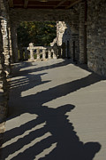 Fieldstone Photos - Shadows Cast On The Porch Of Gillette by Todd Gipstein