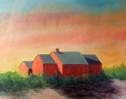 Cape Cod Paintings - Shadows by Hollis Fortune