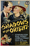 1935 Movies Prints - Shadows Of The Orient, From Left, Top Print by Everett