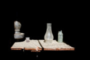 Hurricane Lamp Photos - Shadows of the Past by Steven Folino