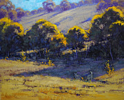 Kangaroo Paintings - Shady Corner by Graham Gercken