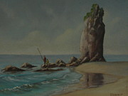 Terry Perham Art - Shag Rock Sumner 1975 by Terry Perham