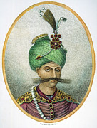 Turban Framed Prints - Shah Abbas I (1557?-1628) Framed Print by Granger