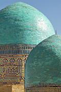 Shahr I Zindah Mausoleum, Samarkand, Uzbekistan Print by Jamie Marshall - Tribaleye Images