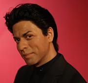 Shahrukh Khan - Shah Rukh Khan - Baadshah Of Bollywood - King Khan - The King Of Bollywood  Print by Lee Dos Santos