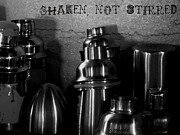 Shakers Posters - Shaken Poster by Chris Berry