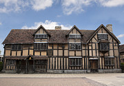 Shakespearean Prints - Shakepeares house Print by Jane Rix
