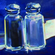 Wine Gallery Art Paintings - Shakers by Penelope Moore