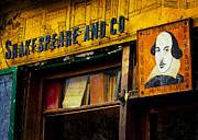 Reused Prints - Shakespeare And Co Print by Christopher Kulfan