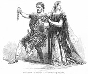 1845 Prints - Shakespeare: Macbeth, 1845 Print by Granger