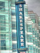 Barry R Jones Jr Digital Art - Shakespeare Theater by Barry R Jones Jr