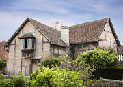 Property Prints - Shakespeares birthplace. Print by Jane Rix