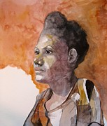 Intense Paintings - Shakima by Ray Agius