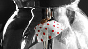 Decanters Photo Prints - Shall We Dance? Print by Howard Barry