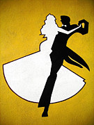 Wand Prints - Shall We Dance ... Print by Juergen Weiss