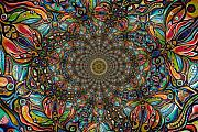 Shrooms Framed Prints - Shamanic Dimensions Framed Print by Andrew Osta