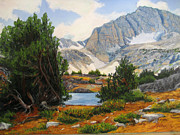 Yosemite Pastels - Shamrock Lake by Marti Walker