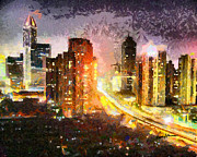 Cityscapes Prints - Shanghai Print by Anthony Caruso