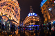 Bund Photos - Shanghai By Night by Peter Verdnik