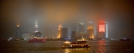 Shanghai Photos - Shanghai Skyline at Night by James Dricker