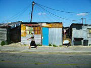 Cape Town Framed Prints - Shanty Framed Print by Andrew Paranavitana