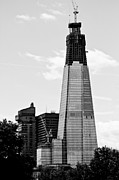 Shard Prints - Shard London Print by Dawn OConnor