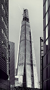 Building Photo Posters - Shard of Glass Poster by Jasna Buncic