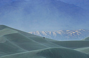 Death Valley Dunes. The Race Track Posters - Sharing The Silence Poster by Bob Christopher