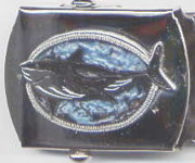 Belt Buckle Jewelry - Shark Buckle by John Maringola