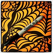 Abstract Art - @sharpie #sharpie #halloween #abstract by Mandy Shupp