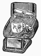 Montgomery Prints - Shaving Case, 1895 Print by Granger