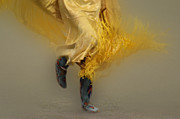 Portraite Metal Prints - Shawl Dancer 9 Metal Print by Bob Christopher