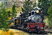 Steam Engine Photos - Shay on the Georgetown Loop by Ken Smith