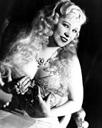 Period Clothing Metal Prints - She Done Him Wrong, Mae West, 1933 Metal Print by Everett